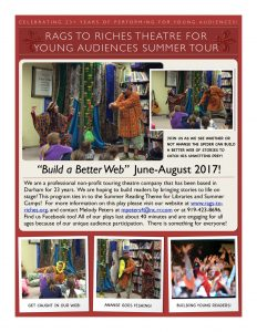 Rags to Riches Summer Tour 2017